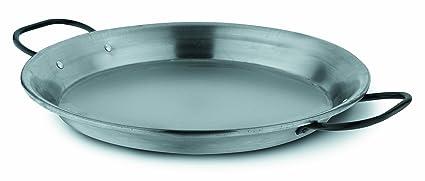 Fagor PAELLERAPUL30 - Paellera acero pulido, 30 cm, válida inducción