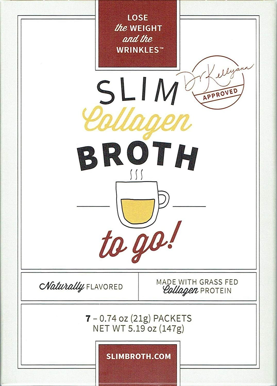 Bone Broth Collagen To Go Packets: (7 servings per box) from Bone Broth Expert Dr. Kellyann | 100% Grass-Fed Collagen | Daily Serving of Collagen by Dr. Kellyann (Image #3)