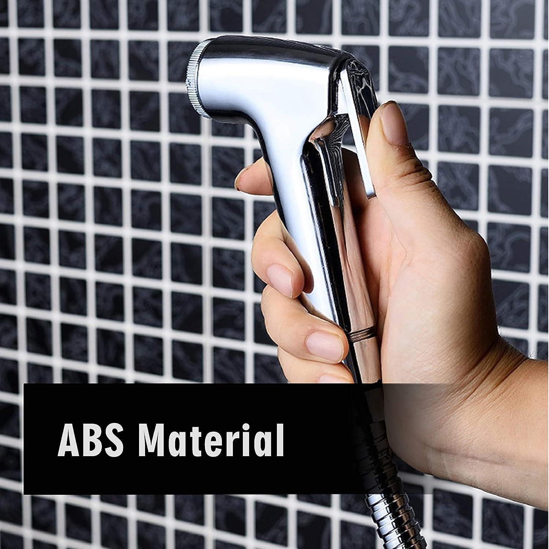 Tianhaik Handbrause Toilette Shattaf Adapter Spray Handheld Bidet Duschkopf f/ür WC 1 St/ück