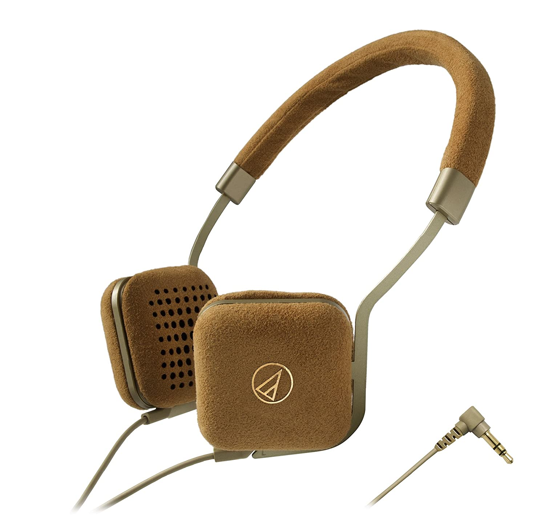 audio-technica 密閉型ポータブルオンイヤーヘッドホン ゴールド ATH-UN1 GD  ゴールド B00OTAD1DA