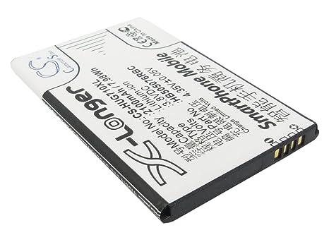 aebdfae8185 techgicoo 2100 mAh/7.98 Wh batería de repuesto para Huawei Y600 ...
