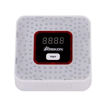 ARIKON Plug-In Combustible Gas Detector with Voice Warning,Digital Display