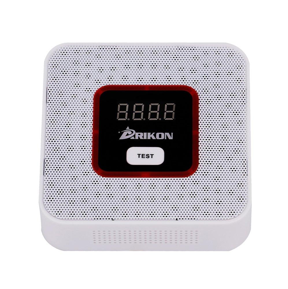 ARIKON Plug-In Combustible Gas Detector with Voice Warning,Digital Display
