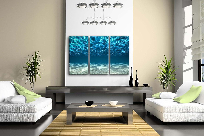 Amazon.com: Print Artwork Blue Ocean Sea Wall Art Decor Poster ...