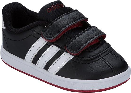 adidas Jungen Sneaker, Schwarz Schwarz Größe: 25 EU