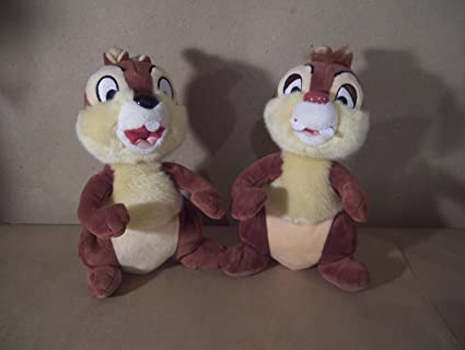 amazon com chip dale offical 9 plush rescue rangers disneyland
