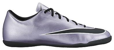 brand new 7d9ca e3af2 Nike Mercurial Victory V IC, Chaussures de Football Compétition Homme,  Argenté (Silber