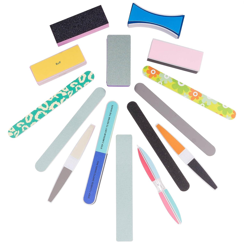 Amazon.com : SHANY Cosmetics Assorted Nail Buffer Files Blocks Cute Styles, 15 Count : Nail Files And Buffers : Beauty