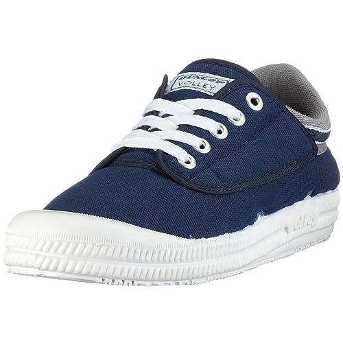 Dunlop Volley Grey 510093000-42 - Zapatillas de Lino para Hombre, Color Azul, Talla 42: Amazon.es: Zapatos y complementos