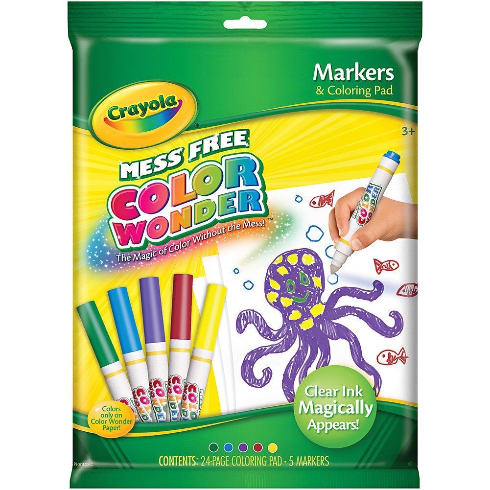 Crayola Color Wonder Markers and Paper Binney /& Smith Inc.//Crayola 75-2140