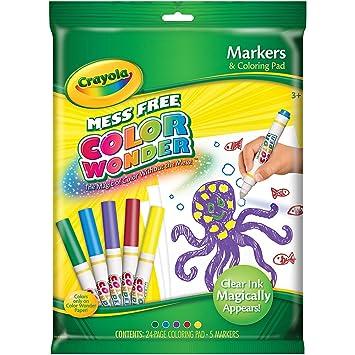 Crayola Color Wonder Marker & Paper Set-, Markers - Amazon Canada