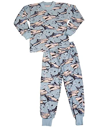 Amazon.com  Sara s Prints - Little Boys Long Sleeve Pajamas  Pajama ... cf2205396