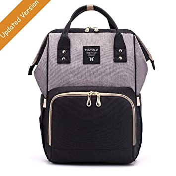 aed7e83f7 Amazon.com   Diaper Bag Backpack Large Capacity Baby Nappy Changing ...