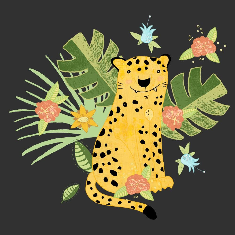 Design By Humans Jungle Adventure Boys Youth Graphic T Shirt