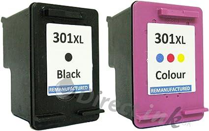 TRI-COLOUR Cartuccia di inchiostro compatibile con HP 301XL Deskjet 2549 all-in-One 3050