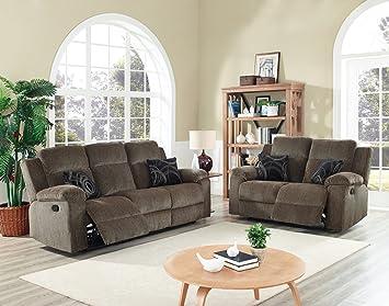Brady Dual Power Motion Recliner Sofa U0026 Loveseat U0026 Chair ...