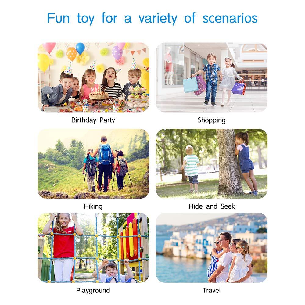 BATURU Walkie Talkies for Kids 3 Pack, 2 Way Radio Toy Walkie Talkie, 3 4 5 6 7 8 9 Year Old Toy Boys and Girls, Walky Talky Long Range (Blue+Pink+Yellow) by BATURU (Image #6)