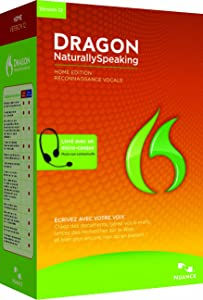 Dragon NaturallySpeaking Home 12, French (Old Version)