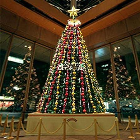 Albero Di Natale 6 Mt.Lnyy Albero Di Natale Cornice 4 5 Metri M M 6 8 Metri Lusso Crittografia Illuminata Decorazioni Festivo Scena Amazon It Casa E Cucina
