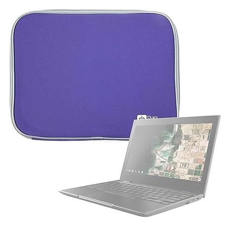 DURAGADGET Funda Morada De Neopreno para Portátil Lenovo 100e Chromebook, 300e Chromebook, 500e Chromebook