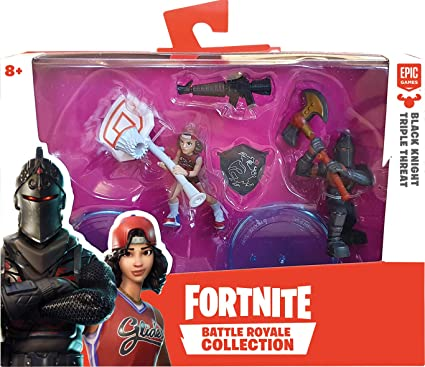 Amazon Com Fortnite Battle Royale Collection Duo 2 Figure Pack 2