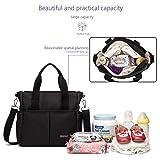 ROYALFAIR Small Diaper Bag 11.8x4.5x11.8 Inch for