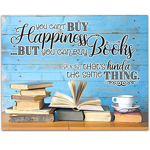Amazon.com: You Can Buy Books - 11x14 Unframed Art Print - Great ...