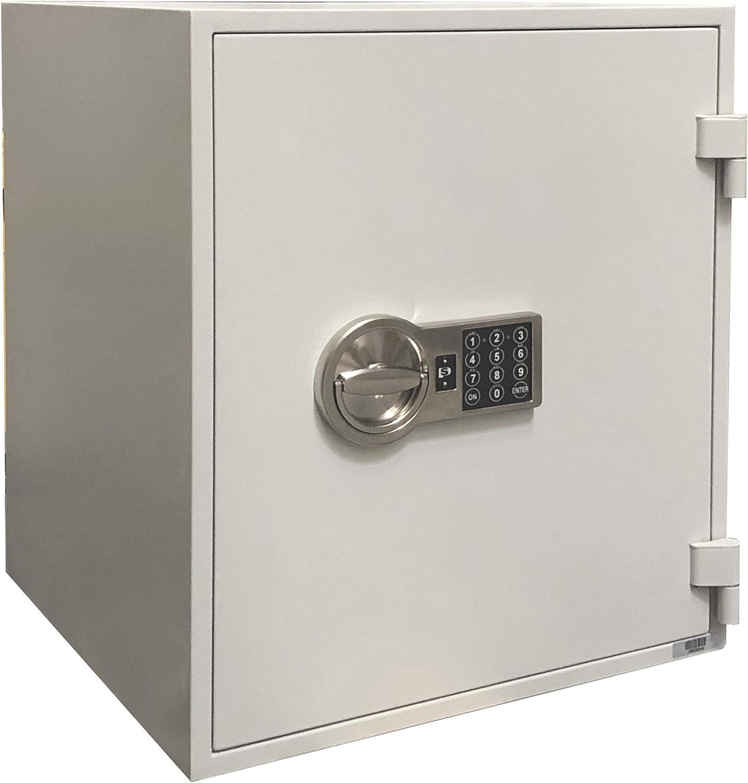 Valberg Fuego – Caja Fuerte L18, protección contra Incendios Caja Fuerte con Cerradura electrónica, lfs60p 51 x 45 x 43 cm Gris: Amazon.es: Juguetes y juegos
