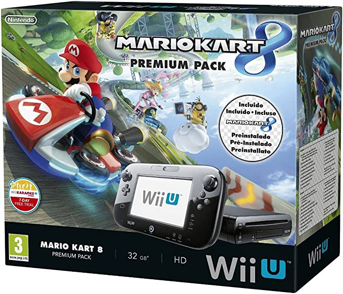 Nintendo Wii U - Consola Premium Pack Mario Kart 8 (Preinstalado ...