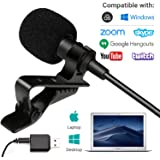 Movo Sevenoak Universal USB Computer Microphone with USB adapter compatible with Laptop