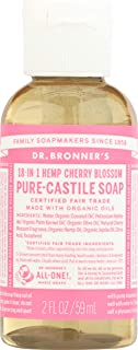 product image for Dr Bronners, Soap Liquid Castile Cherry Blossom Organic, 2 Ounce