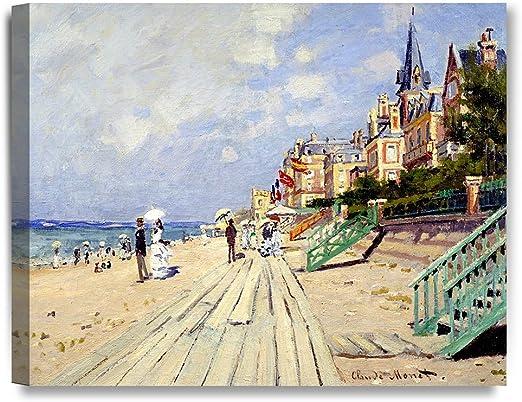 Claude Monet WOMAN IN THE GARDEN Sainte-Adresse 24X36 FINE ART POSTER FAMOUS