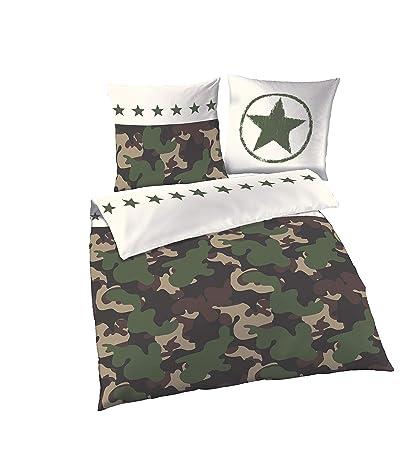 KIDS CAMOUFLAGE DUVET  CAMO BEDROOM SET CAMO  SET 135 X 200 CM CHILDRENS ARMY