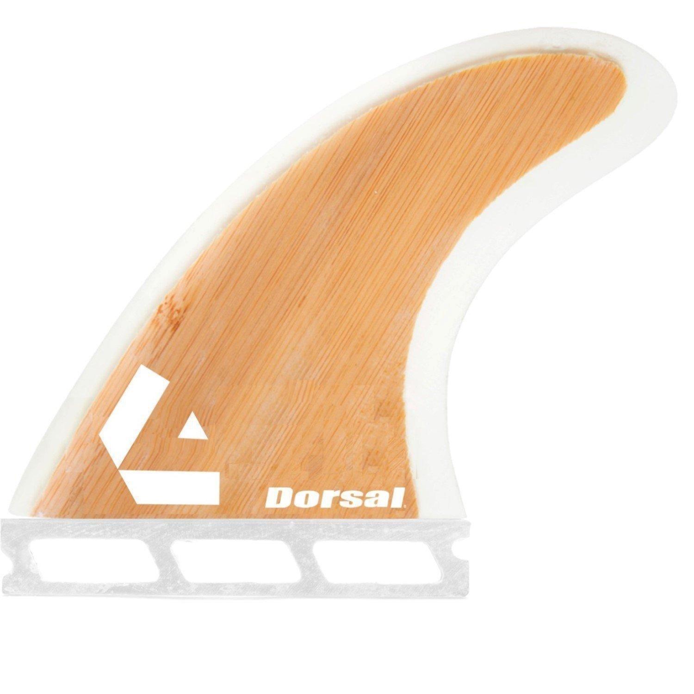 Dorsal Surfboard Fins Bamboo Hexcore Thruster Set Honeycomb FUT Base 3