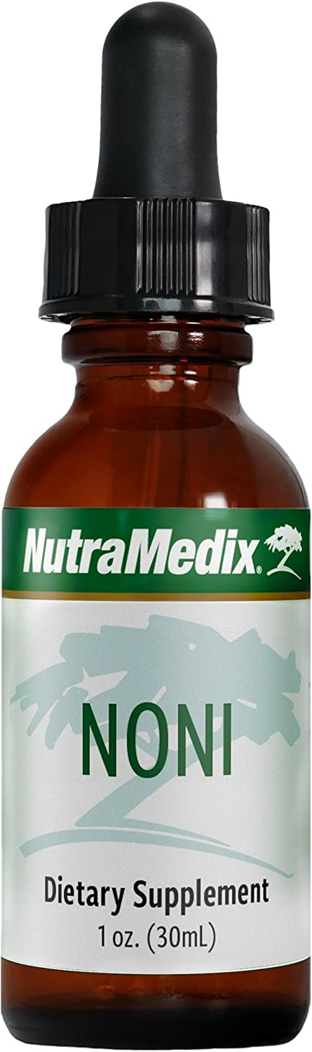 NutraMedix Noni – Noni Fruit Extract Drops, Microbial Immune Defense 1 Ounce, 30 Milliliters