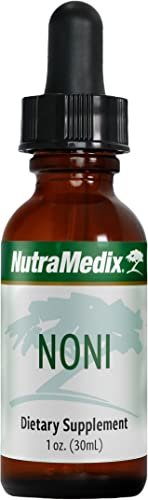 NutraMedix Noni Plant Drops - Immune Microbial Support Supplement with Noni Fruit Extract 1oz 30ml Liquid