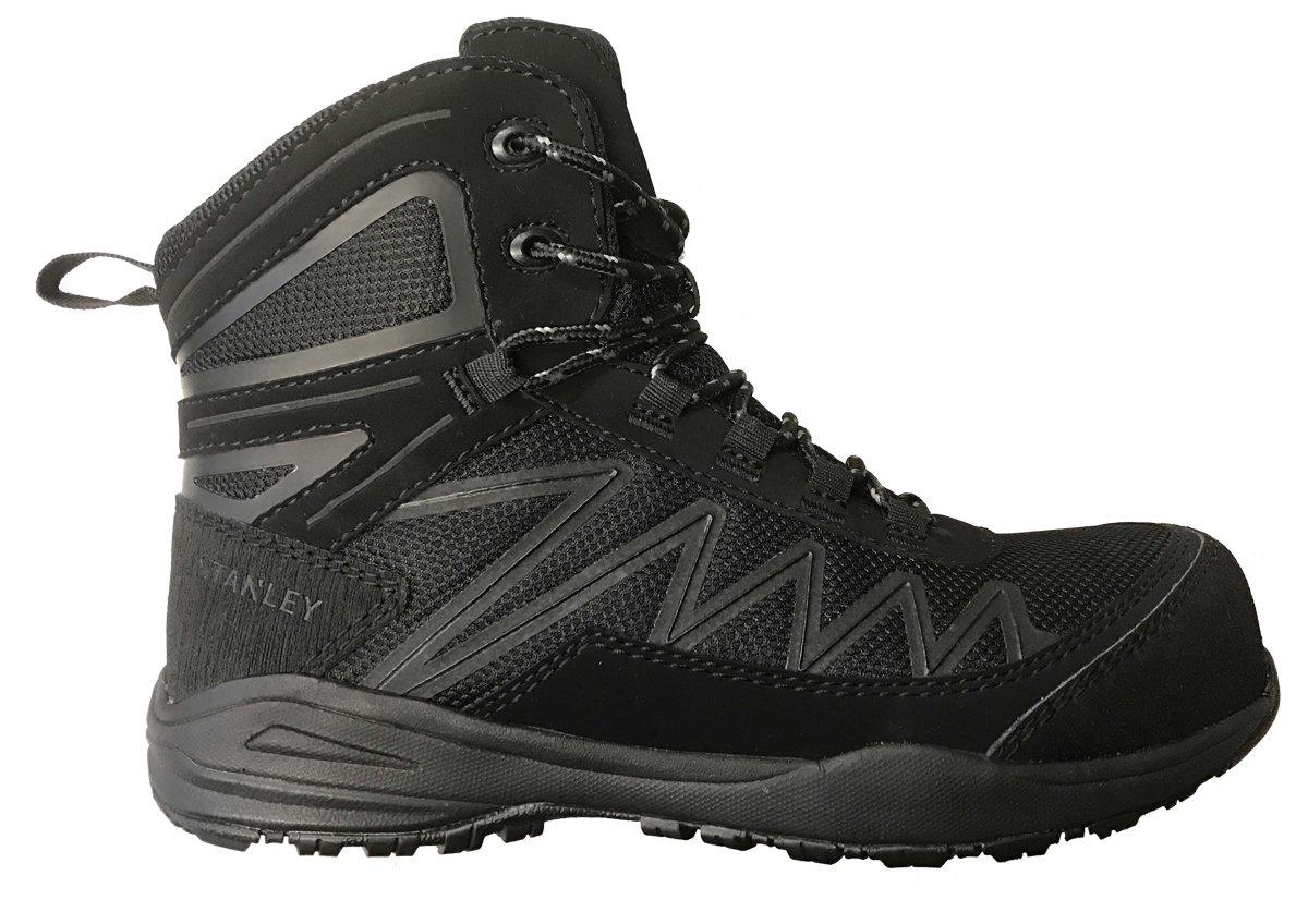 Stanley Breeze Mid Women's Hiker Composite Toe Safety Boot (7.5 B(M) US, Black)