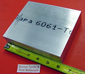 ".25/"" thick  1//4  Aluminum 6061 PLATE  8.75/"" x 10.125/"" Long QTY 5  sku 176414"