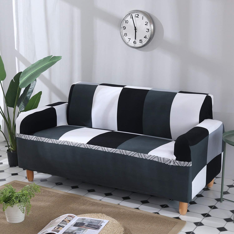 Amazon.com: Fundas de sofá elásticas para sala de estar ...