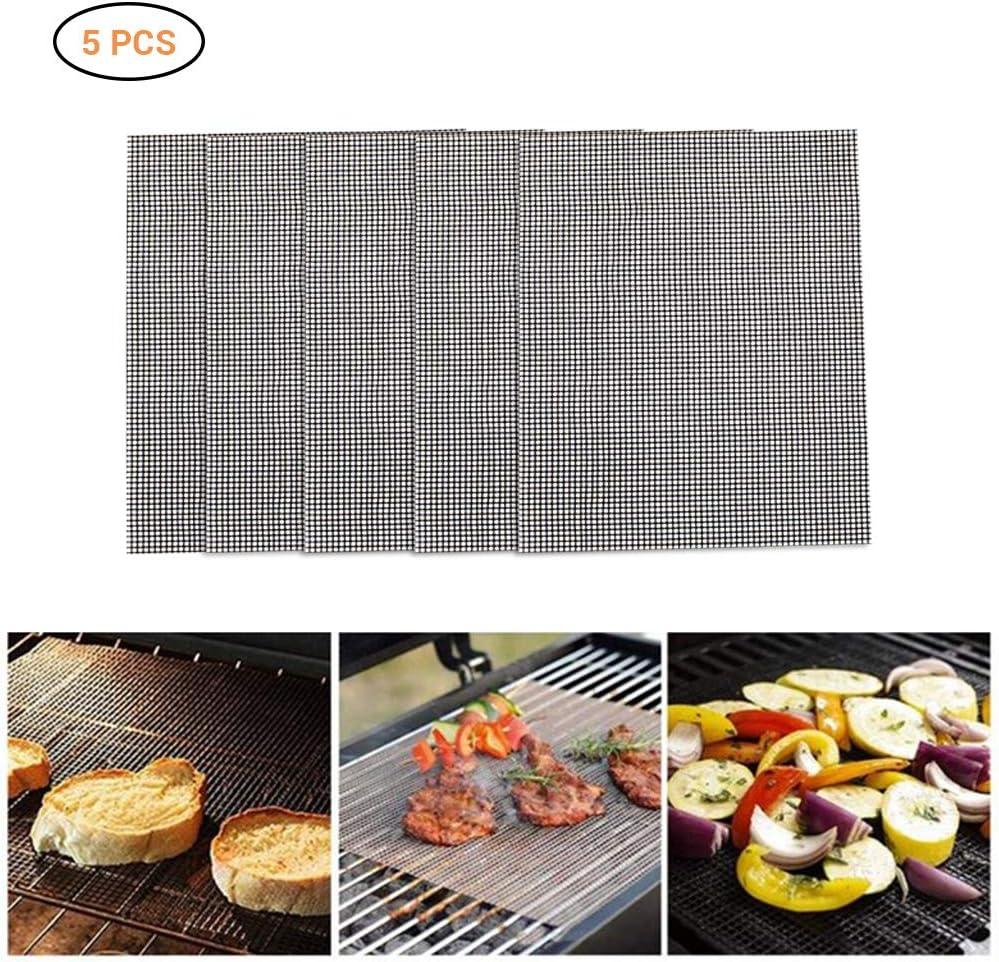 Nifogo BBQ Grill Mesh Réutilisable Non Stick Grill Mat