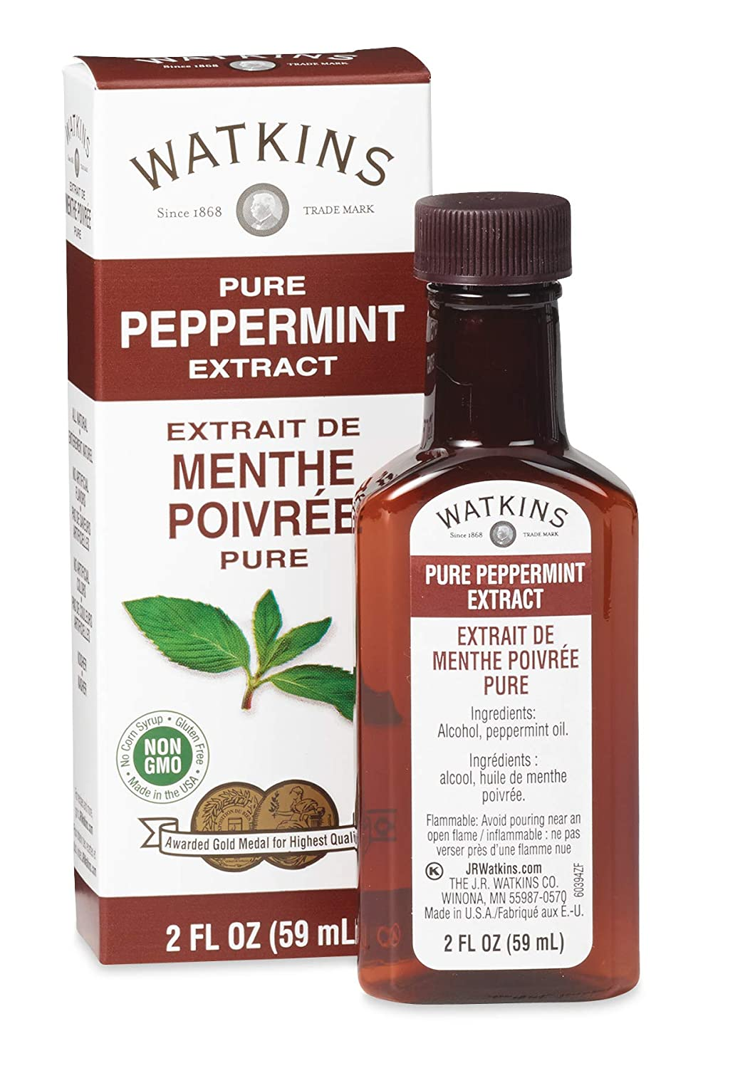 All Natural Extract, Pure Peppermint,
