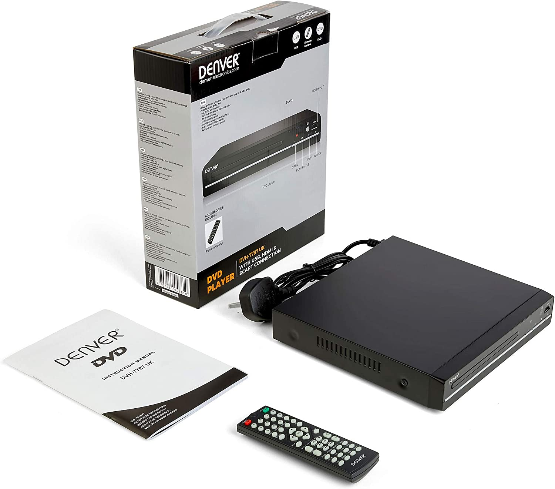 Denver Dvh 7787 Compact Dvd Player Multiregion Elektronik