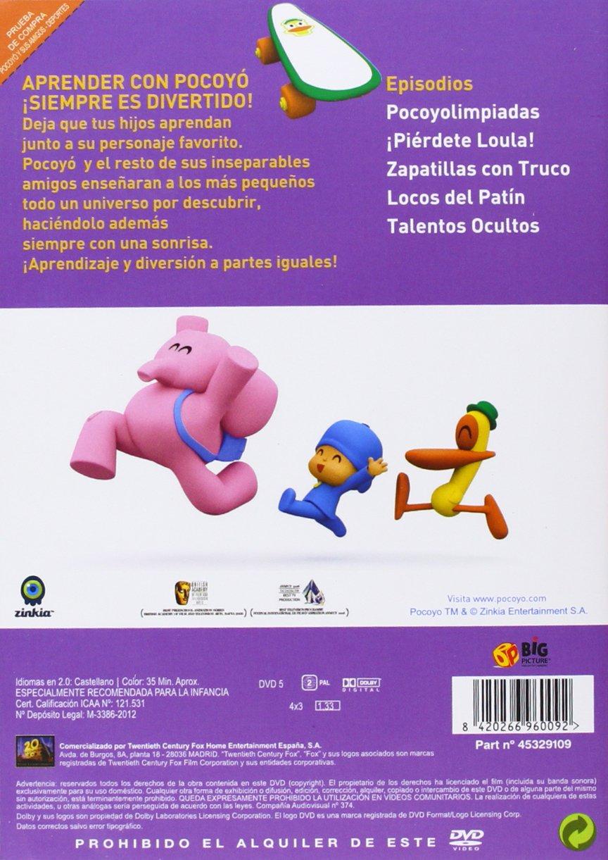 Amazon.com: Pocoyo Y Sus Amigos: Deportes (Import Movie) (European Format - Zone 2) (2012) Personajes Animados: Movies & TV