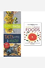Skinnytaste cookbook, hidden healing powers of super & whole foods and tasty & healthy 3 books collection set Paperback