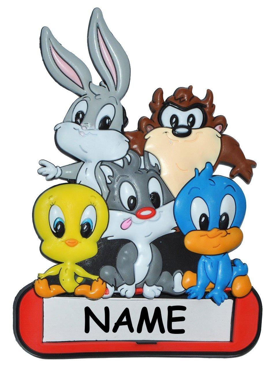 Türschild / Namensschild - Looney Tunes mit Namen - Kinderzimmer ...