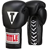 TITLE Classic Lace-Up Leather Training Gloves