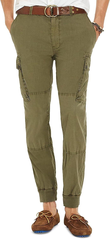 36W x 34L Polo Ralph Lauren Straight-Fit Stretch Jogger Pants