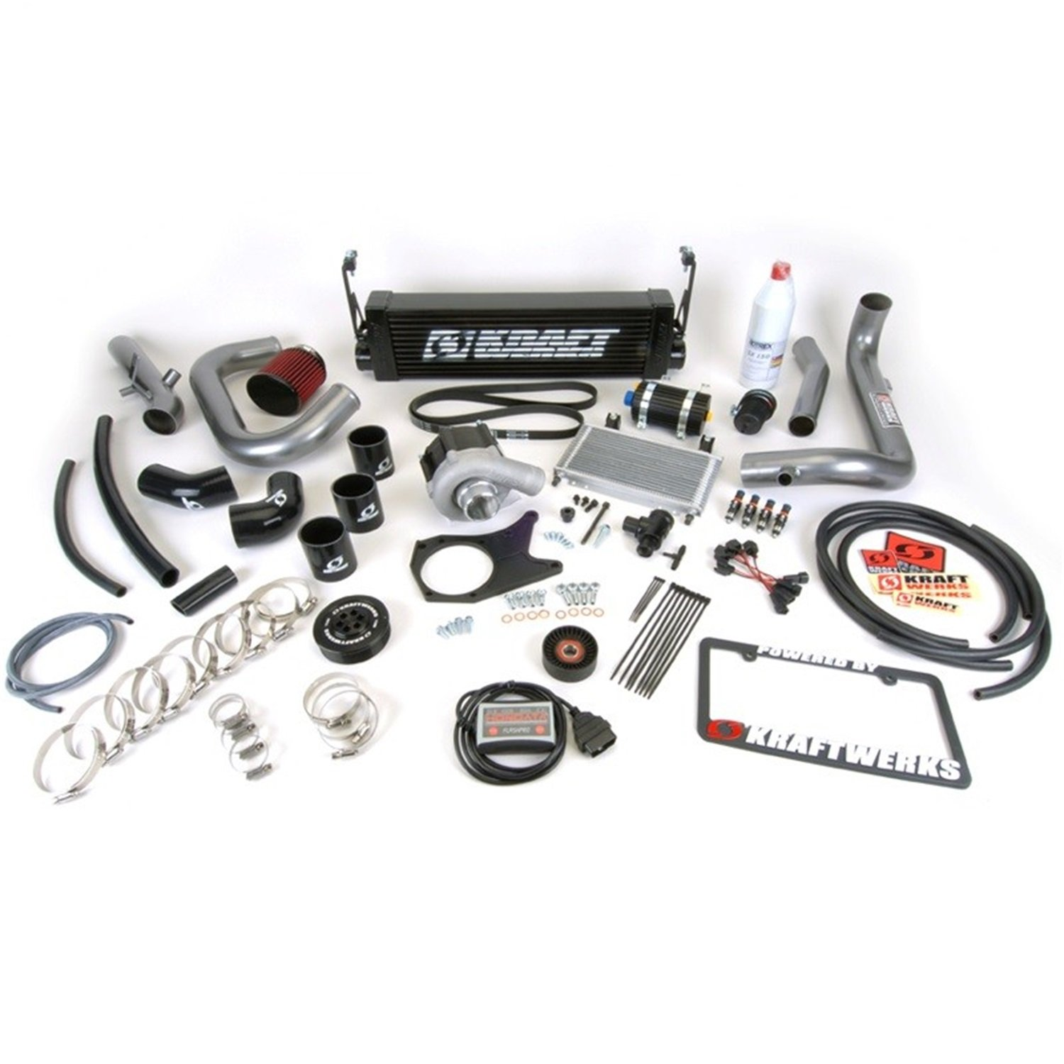 Kraftwerks 150-05-1401B Supercharger System with Tuning Black Housing