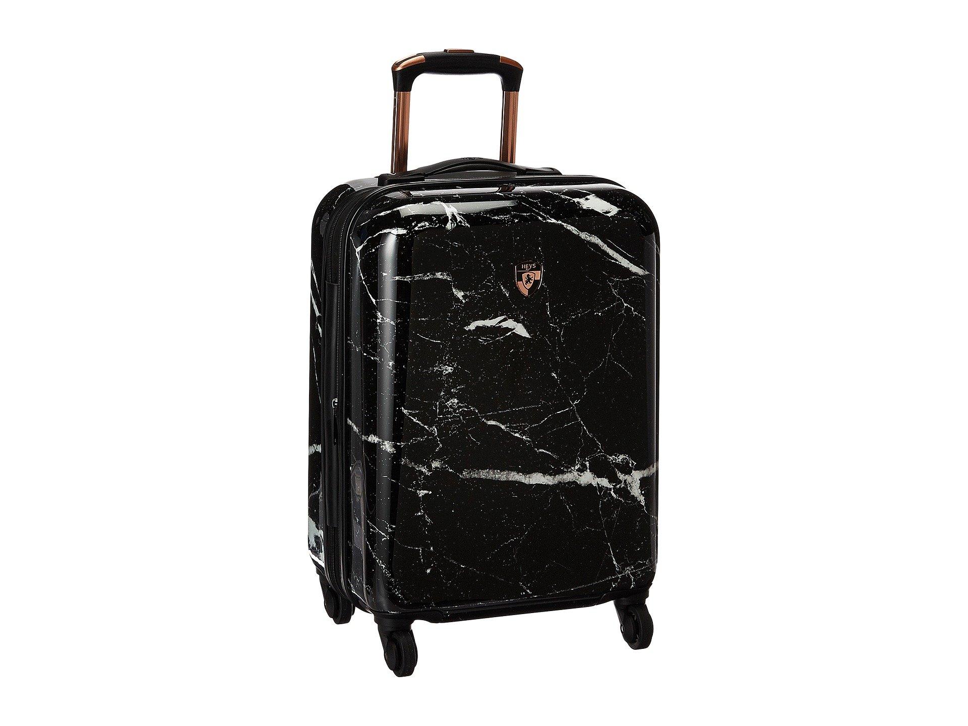 Heys America Unisex Marquina 21'' Spinner Black Luggage by HEYS AMERICA