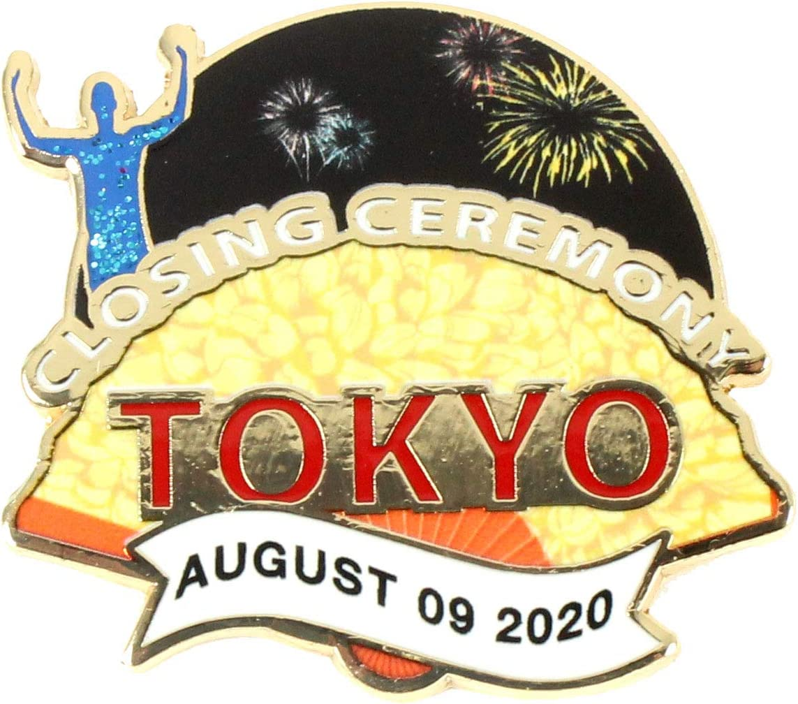 Limited 1,000 Classic Pins 2020 Tokyo Olympics Torch Pin